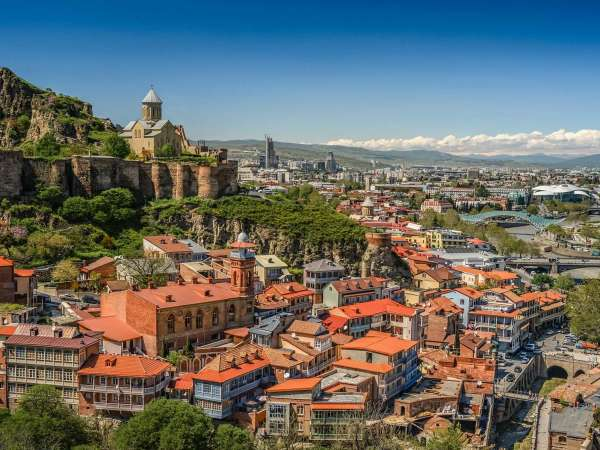 The most popular tourist cities of Georgia