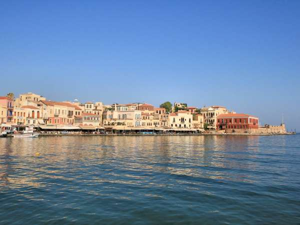 How to reach from Chania to Crete?