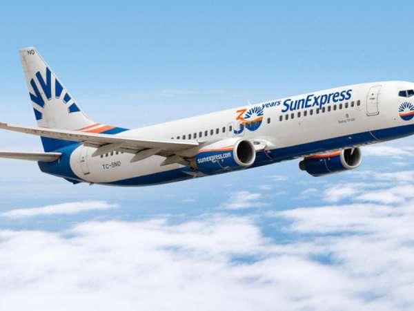 SunExpress to launch new Gatwick connection